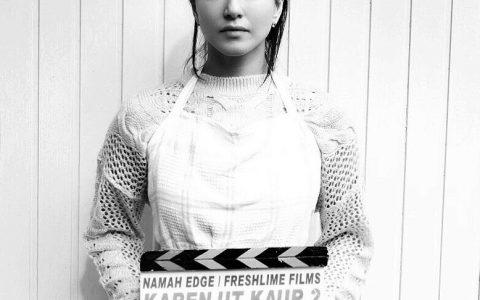 Rysa X as Younger Sunny Leone in Karenjit Kaur
