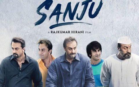 Ranbir Kapoor Sanjay Dutt looks in Sanju