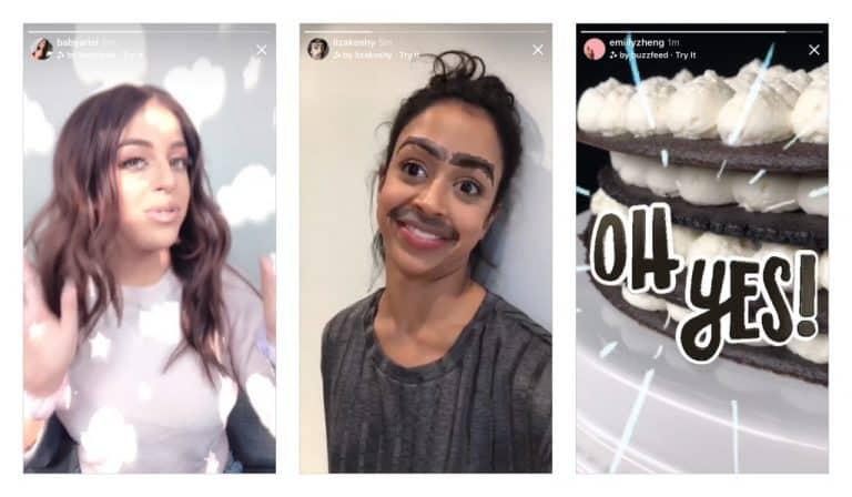 Instagram Camera Effects June2018