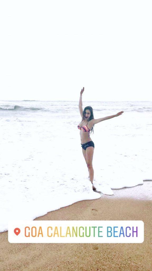 Sara Khan Goa vacation