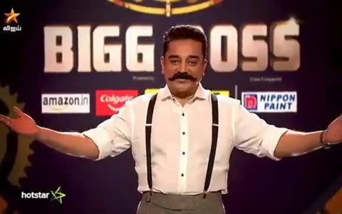 Tamil Bigg Boss Season Two Participants - Kamal Hussan