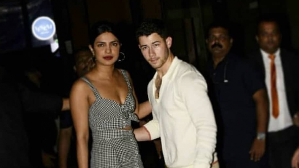 Priyanka chopra and Nick Jona