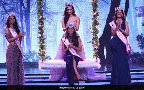 19 Years Old Tamil Nadu's Anukreethy Vas crowned Miss India 2018