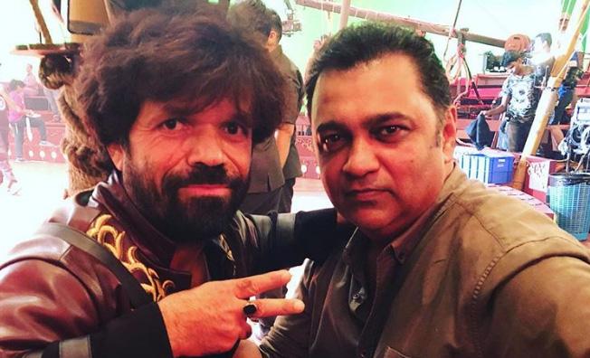 Peter Dinklage shooting for Salman Khan's 'Bharat'