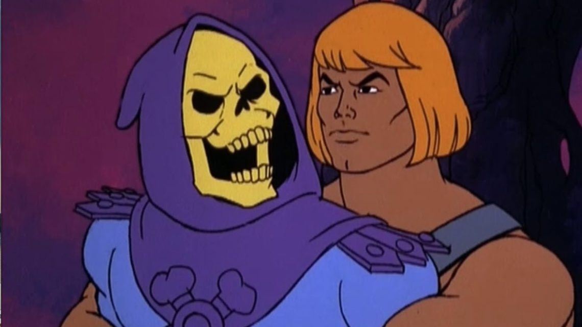 He-Man Dirty Dancing with Skeletor