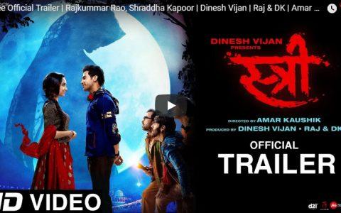 Stree Official Trailer with Rajkummar Rao-Shraddha Kapoor