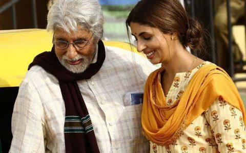 Sweta Bachchan Nanda with father Amitabh Bachan