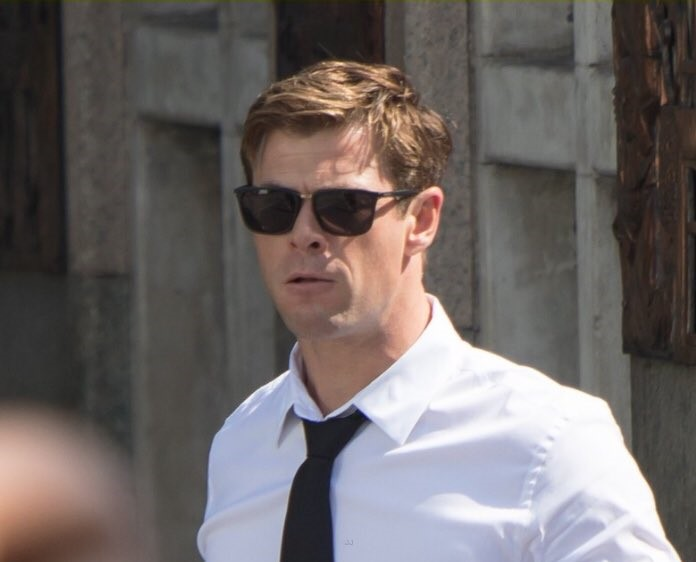 """Men in Black"" reboot! First Look Of Chris Hemsworth"