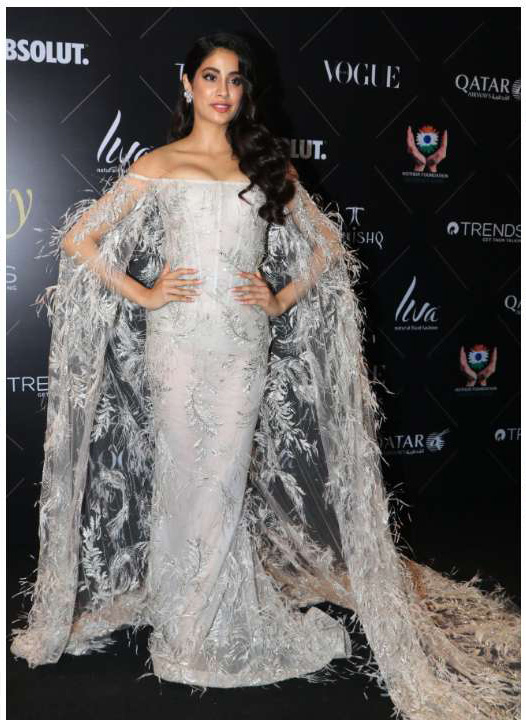 Jhanvi Kapoor_Vogue Beauty Awards 2018