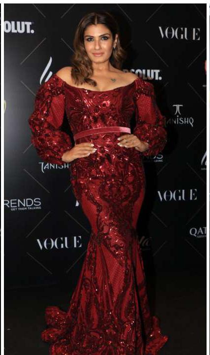 Raveena tandon_Vogue Beauty Awards 2018