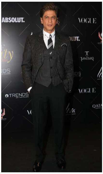 Shahrukh Khan_Vogue Beauty Awards 2018
